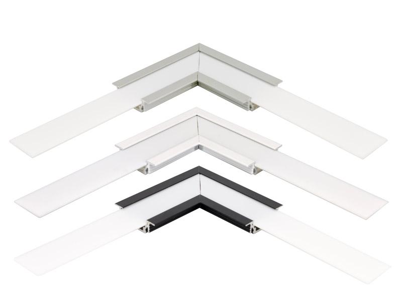 eckverbinder 90 grad f r led alu fl gelprofile f led online led kaufen. Black Bedroom Furniture Sets. Home Design Ideas