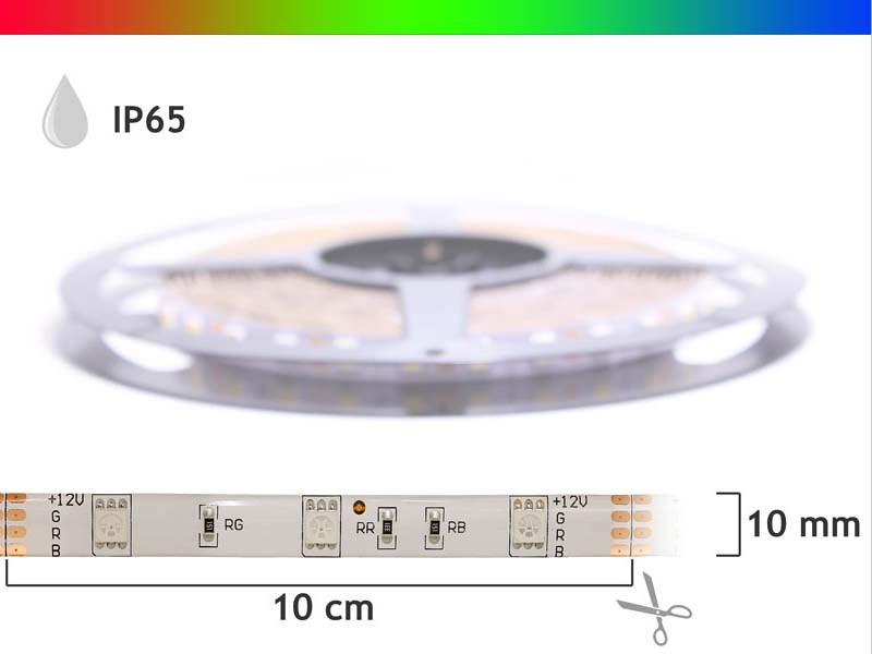 rgb led streifen led strip 24v 36w ip65. Black Bedroom Furniture Sets. Home Design Ideas