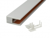 glaskantenprofile lassen sie ihre glasb den erstrahlen. Black Bedroom Furniture Sets. Home Design Ideas