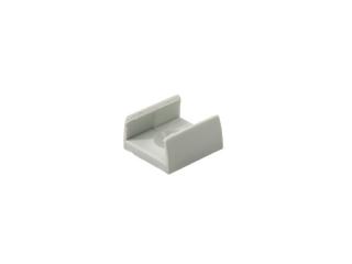 graue kunststoff montageclips f r led alu profile von klus led online led kaufen. Black Bedroom Furniture Sets. Home Design Ideas